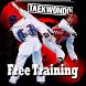Taekwondo free training by ay shohwatul