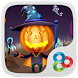 Pumpkin head GO Launcher Theme by ZT.art