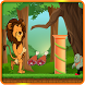 Brave Lion Adventures Running by androidchidra