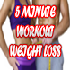 5 minute Workout Weight Loss by OMIXMAD