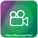 Video filters and effects-Make beautiful video by Photovideomixerapps