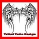 Tribal Tattoo Design by gibran