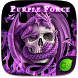 Purple Force GO Keyboard Theme by GOMO Dev Team