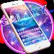 Neon galaxy keyboard by artant