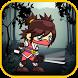 Ninja Girl Jump by GeekToro
