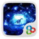 Blue Crystal Cave GO Theme by Freedom Design