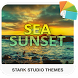 SEA SUNSET Xperia Theme by Stark Studio