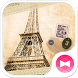 Paris wallpaper Eiffel Tower by +HOME by Ateam