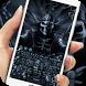 Dark Grim Reaper keyboard by cool theme creator