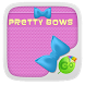 Pretty Bow GO Keyboard Theme by GO Keyboard Dev Team