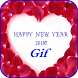 Happy New Year Gif 2018 by virkapps