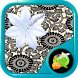Fancy Lace GO SMS Pro Theme by Beyoutiful Designs