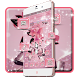 Rose Gold Diamond Theme by Launcher Fantasy