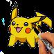 How to Draw - Pokemon & Pika by hmz dev