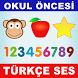 Okul Öncesi Eğitici Türkçe Oyun by Minikler Öğreniyor