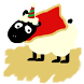 Christmas Sheep Battery Widget by nobulAJ
