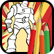 Comics Heroes Coloring book by Motiousch