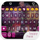 Happy Paris Emoji Keyboard by Colorful Design