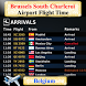 Brussels South Charleroi Airport Flight Time by AsoftTech Solutions