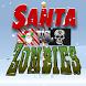 Santa vs Zombie Pirates by Onteca