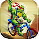 Ninja Turtle Climb Racing - Bike racer 2018