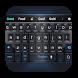 dark future technology keyboard machine by Keyboard Theme Factory