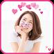 Heart Crown Filter Cat Sticker