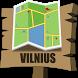 Vilnius Map by Mappopolis