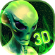 Neon Alien Technology 3D by Great Themes
