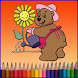 Free Kids Coloring Book Pro by MoustaGame