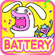 Lips Cat & Rabbit Battery by peso.apps.pub.arts