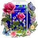 Scarlet Rose Butterfly Theme by HD Themes and Wallpaper