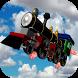 Flying Train Xtreme City Ride by V.I. Games