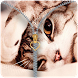 Cute Cat zipper lock screen by FunnyGalaxy-BestAppsGames Corp
