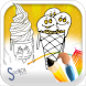 Ice Cream Coloring Book by socibox