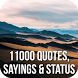 11000 Quotes, Sayings & Status by Internet Design Zone