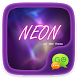 (FREE) GO SMS NEON THEME by ZT.art