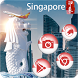 Singapore Merlion statue theme by trump theme park