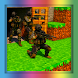 Soldier strike multiplayer map for Minecraft PE
