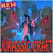 Jurassic Craft Add-on for McPE by MartikModsInc