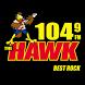 104.9 The Hawk by StreamMyStation