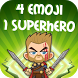 4 Emoji 1 Superhero - guess the comics hero! by quiz4you.game