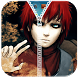 Gaara Zipper Lock Screen by Tata Mobile