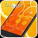 Sweet Orange AppLock by CheetahMobile AppLock Theme
