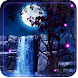 Night Waterfall LWP by Free Live Wallpaper Lab