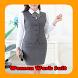 Women Work Suit by gibran