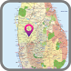 Sri Lanka Map by MAP Directions Online