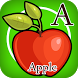 ABC Fruit Vegetable Learning by EazyAppStudio