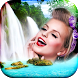 Waterfall Photo Frame by Top Photo Developers
