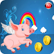Piglet Jumping Flying Crazy by Runner Arcade Game Kids